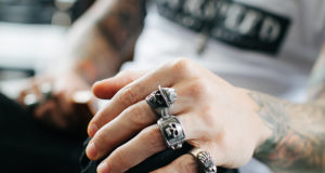 Skull Rings as Popular form of Jewellery for Men