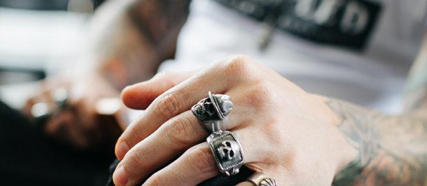 Skull Rings as Popular form of Jewellery for Men