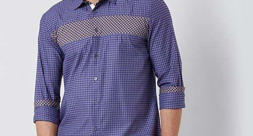 Trending colour choices in men's shirt